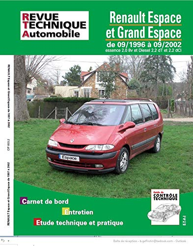 9782726860311: rta 603.1 renault espace essence et diesel