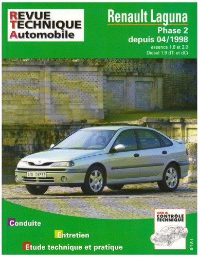 9782726863411: rta 634.1 renault laguna phase 2 (french edition