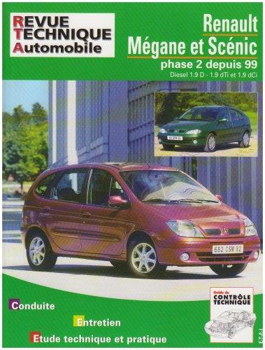 9782726865613: Rta 656.1 Renault Megane/Scenic Diesel 99/01