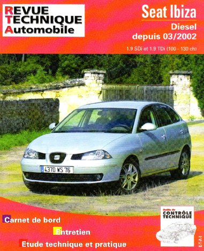 RTA 660 1 SEAT IBIZA DIESEL DEPUIS 03/02: R T A