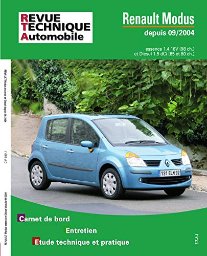 9782726868911: rta 689.1 renault modus essence et diesel
