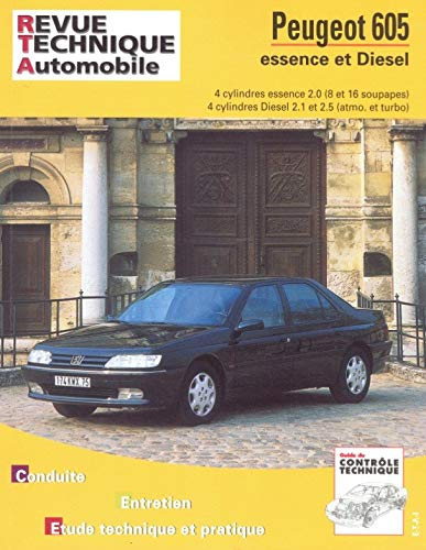 9782726870419: Rta 704.2 peugeot 605 4cyl.es. 90-96 diesel 90/95 (French Edition)