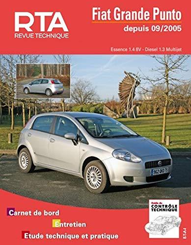 9782726870457: Rta B704.5 Fiat Grande Punto 1.4 8v + 1.3 Jtd 75/90