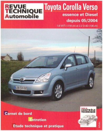 9782726870556: Rta B705.5 Toyota Corolla Verso 110 Vvt-I + 136 D4-d