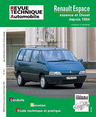 Rta 709.2 Renault espace 4 cyl. e&d: Etai