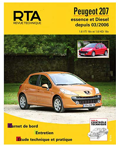 Rta B711.5 Peugeot 207 Es 1.6v/Diesel 1.6: Etai
