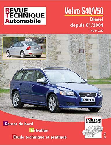 9782726871850: Rta B718.5 Volvo V50/S40 II 01/04> Dies. 1.6 et 2.0