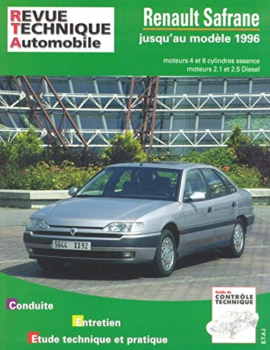 Revue Technique Automobile, N° 722 Renault Safrane: Collectif