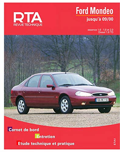 9782726872314 rta 723 3 ford mondeo e d td 93 97 abebooks rh abebooks co uk Ford Focus Manual 1956 Ford Owners Manuals