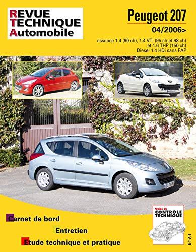9782726872451: Rta B724.6 Peugeot 207 + Cc>04/06 Ess 1.4-1.6+1.4hdi
