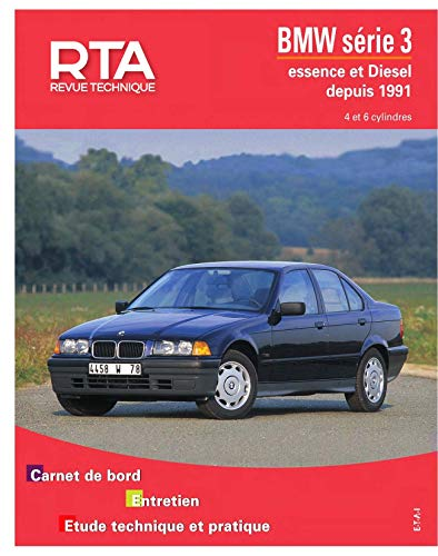 9782726872512: E.T.A.I - Revue Technique Automobile 725 - BMW SERIE 3 III - E36 - 1991 à 2000