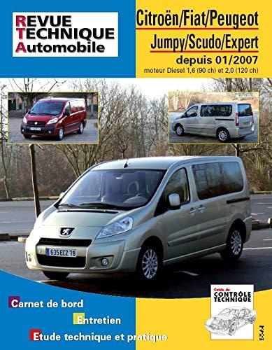 9782726872857: Rta B728.5 Jumpy+Scudo II+Peugeot Expert II >01/07 d