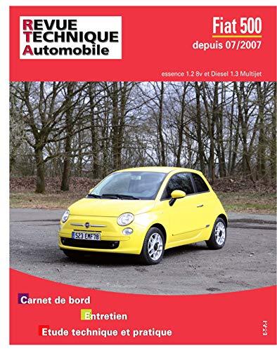 9782726872956: Rta B729 Fiat 500 II essence et diesel à partir du 07/2007 Ess 1.2+ 1.3D multijet