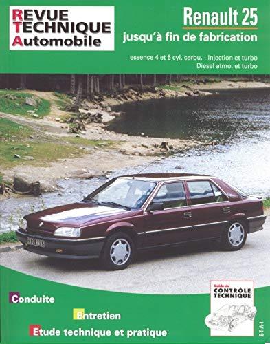 9782726873014: Rta 730.1 Renault 25 essence/diesel