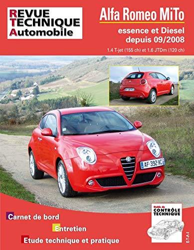 9782726873854: Rta B738 Alfa Romeo Mi.to 09/2008> Ess 1.4+1.6 Jtd (French Edition)