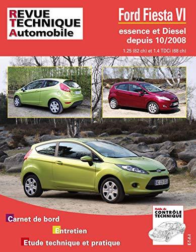 9782726874257: Rta B742 Fiesta VI Ess 1.25 et 1.4 Tdci Dep 10/2008