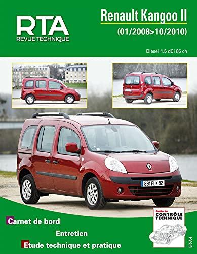 9782726876558: Rta B765.5 Renault Kangoo II 1.5 Dci 01/2008>10/2010