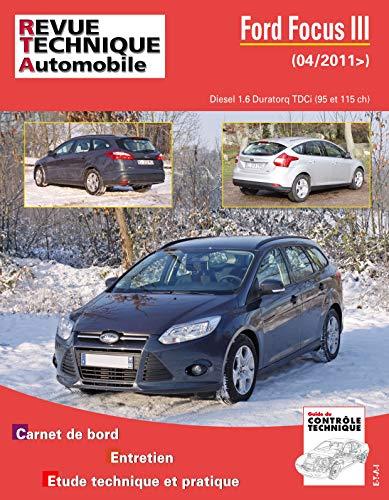 9782726877159: Rta B771 Ford Focus III 1.6 Tdci 95/115 CH BVM6