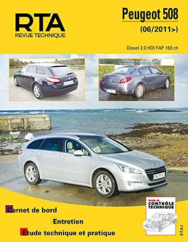 9782726878057: Peugeot 508 (Revue technique automobile)