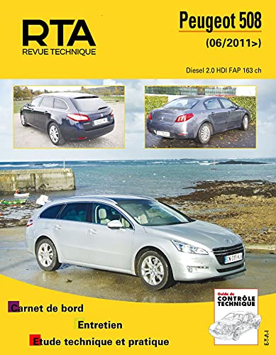 9782726878057: Peugeot 508 : Revue Technique Automobile 01/2011