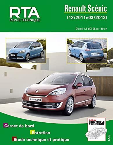 9782726878859: E.T.A.I - Revue Technique Automobile B788.5 - RENAULT GRAND SCENIC III PHASE 2 - 2011 à 2013