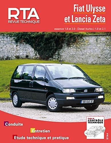 9782726882917: Revue technique automobile, numéro 855.9 : Fiat Ulysse - Lancia Zeta