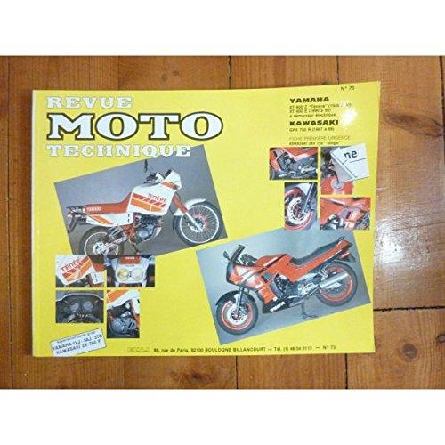 9782726890677: Rmt 73.2 Yamaha Xt 600 Z/Kawasaki Gpx 750 R (87/89)