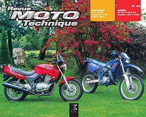 9782726890974: Rmt 98.4 kawasaki kdx 125/honda cb 500 (French Edition)