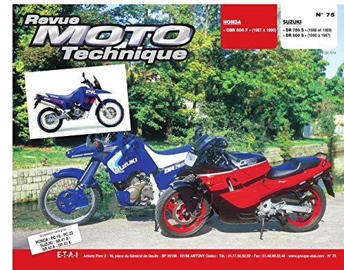 9782726891025: REVUE MOTO TECHNIQUE NUMERO 75 : HONDA CBR 600 F