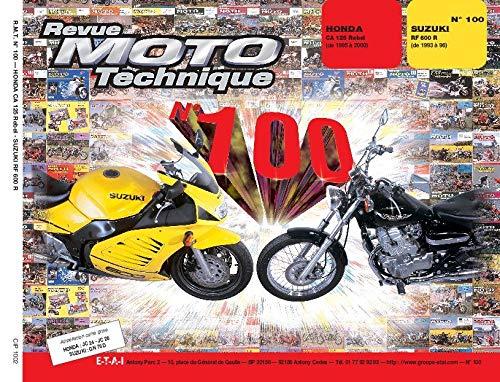 9782726891100: Honda : ca 125 Rebel (de 95 à 96) Suzuki rf 600 r (de 93 à 96)