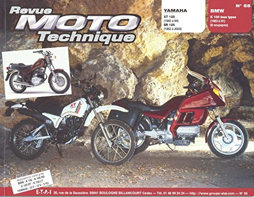 YAMAHA 125 SR 125 BMW K100 TOUS TYPES: R M T 55