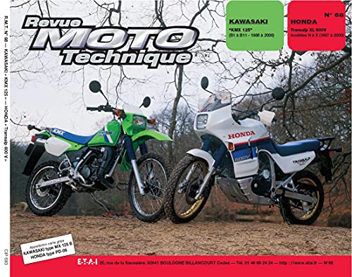 9782726891247: Rmt n�68 : Honda XL 600 V Transalp de H � T 1987 1996 Kawasaki KMX 125 B1 � B8 86/96