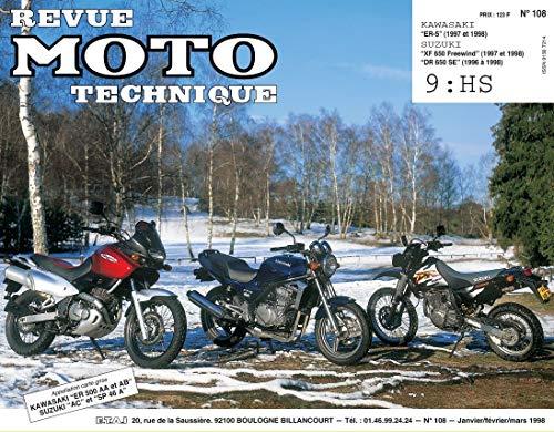 9782726891421: Revue technique de la Moto, numéro 108.1 : Kawasaki ER-5, Suzuki DR 650SE, XF 650