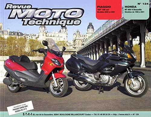 9782726891889: Rmt 124.1 Piaggio X9 / Honda Nt 650 V Deauville