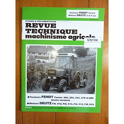 9782726892060: Rtma 92.1 Fendt Tracteurs Farmer 240 a 280