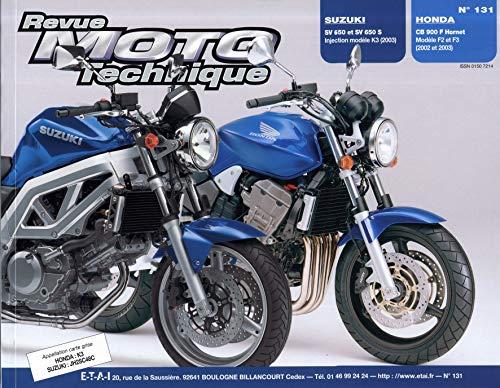 9782726892244: Rmt 131.1 Suzuki Sv650 S/N - Honda Cb900f2 Hornet
