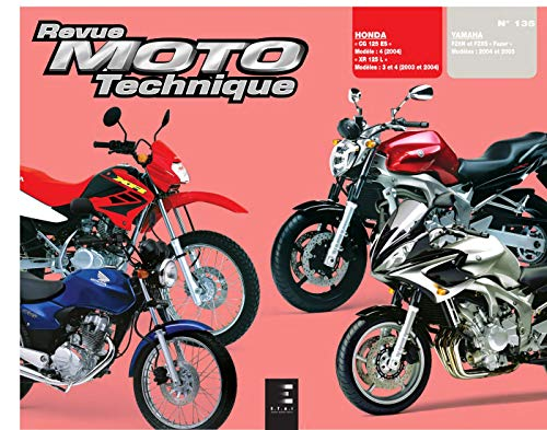 9782726892350: Rmt 135.1 Honda Cg125 Xr 125l Yamaha Fz6n Fz6s Fazer