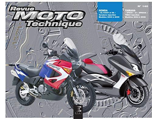 YAMAHA XP500 XP500A T MAX HONDA XL 1000V: R M T 140