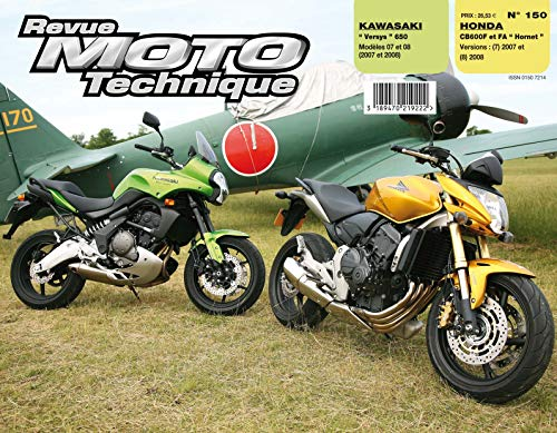 9782726892510: Rmt 150.1 Honda Cb600f/Fa+Kawasaki Versys 650 07/08