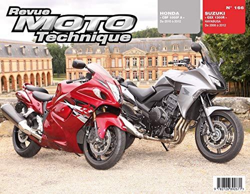 HONDA CBF 1000F 2010 A 2012 SUZUKI GSX 1: R M T 166