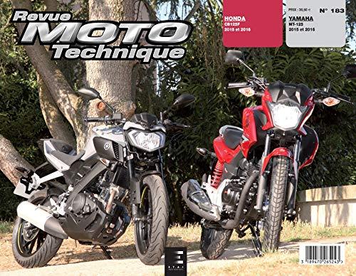 9782726892848: Rmt 183 Yamaha Mt-125(2015 &2016)/Honda(2015 & 2016)