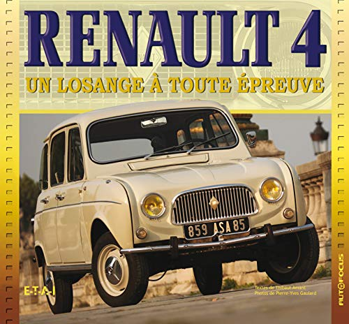 9782726894811: Renault 4 (French Edition)