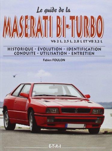 9782726895955: Maserati Bi-Turbo 1981-1998