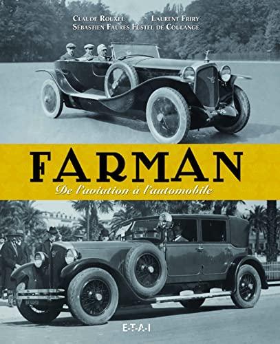 9782726897478: Farman : De l'aviation à l'automobile