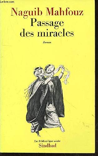 9782727401612: Passage des miracles