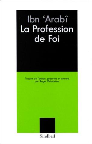 9782727401964: La profession de foi