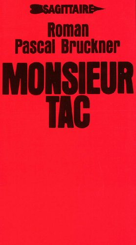 9782727500209: Monsieur Tac: Roman