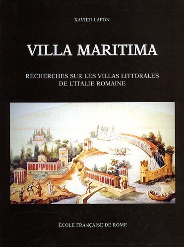 9782728306183: villa maritima. recherches sur les villas littorales de l'italie romaine.