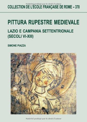 Pittura rupestre medievale : Lazio e Campania: Piazza, Simone