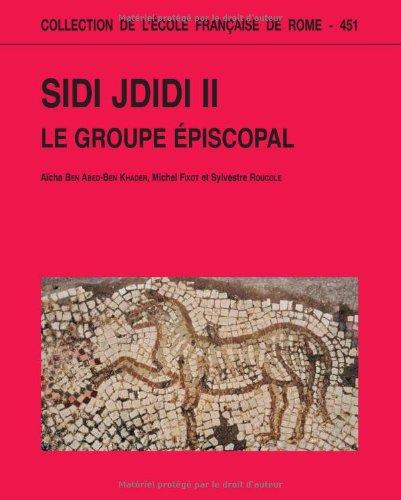 9782728308958: Sidi Jdidi : Volume 2, Le groupe épiscopal